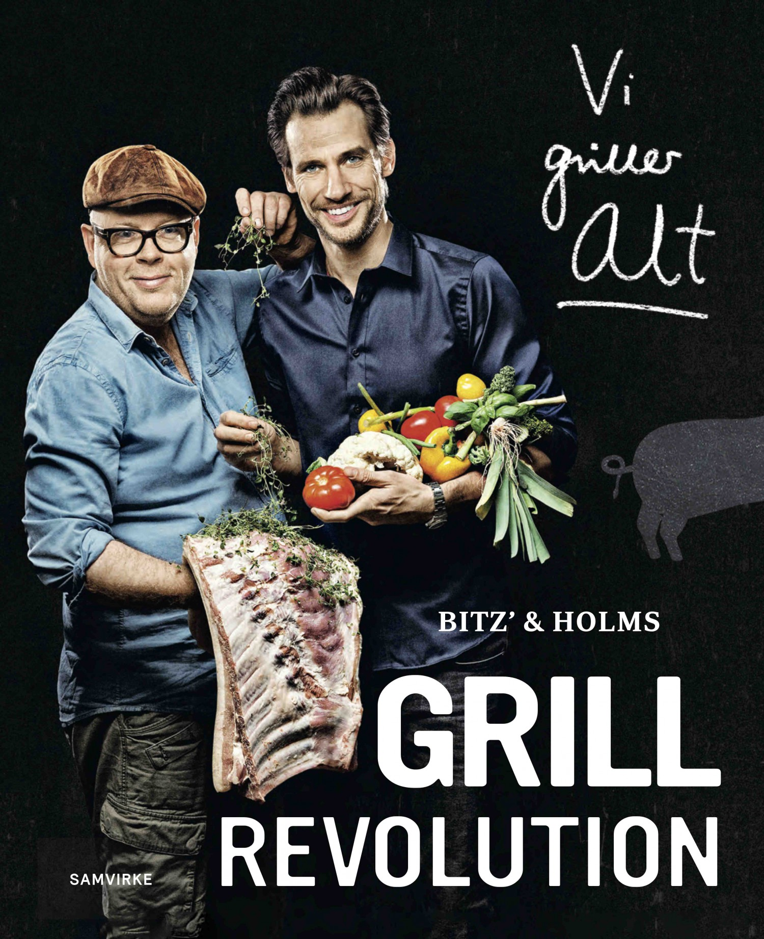 Bitz' og Holms Grillrevolution - forside