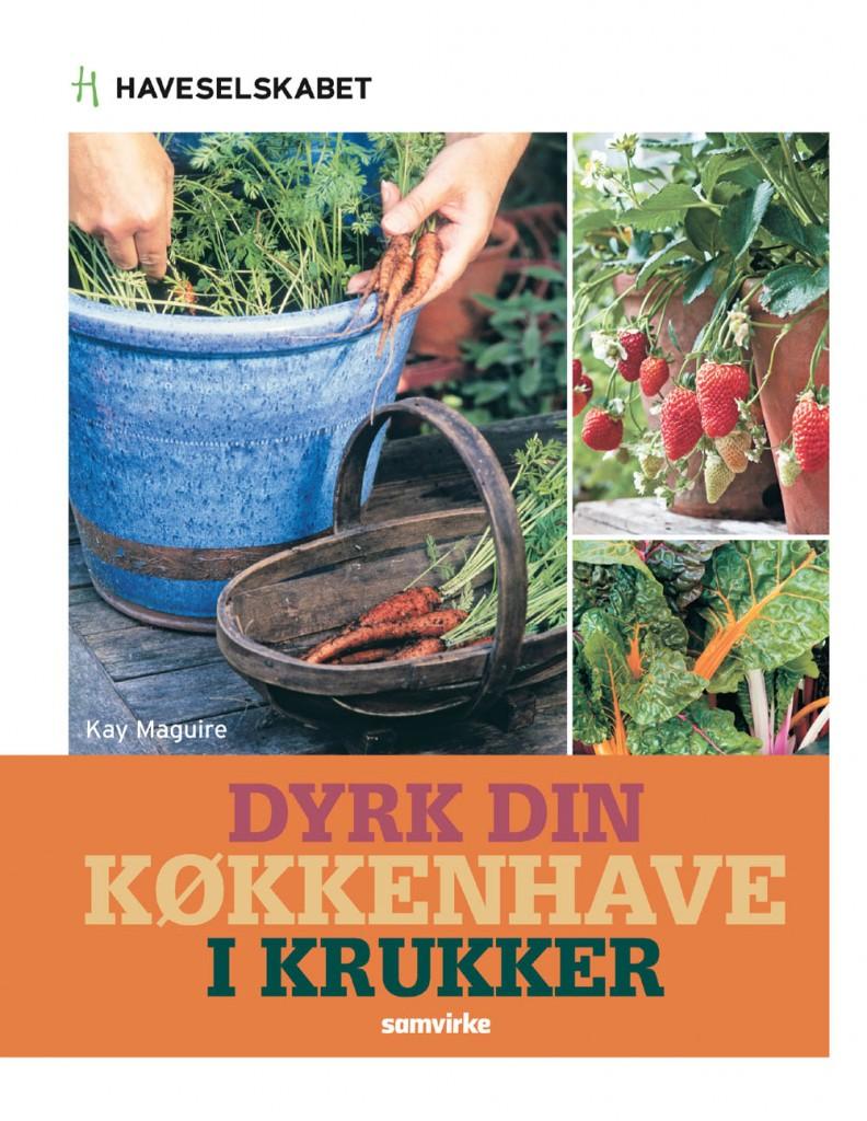 dyrk din køkkenhave i krukker forside