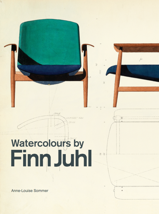 Watercolours by Finn Juhl written by Anne-Louise Sommer