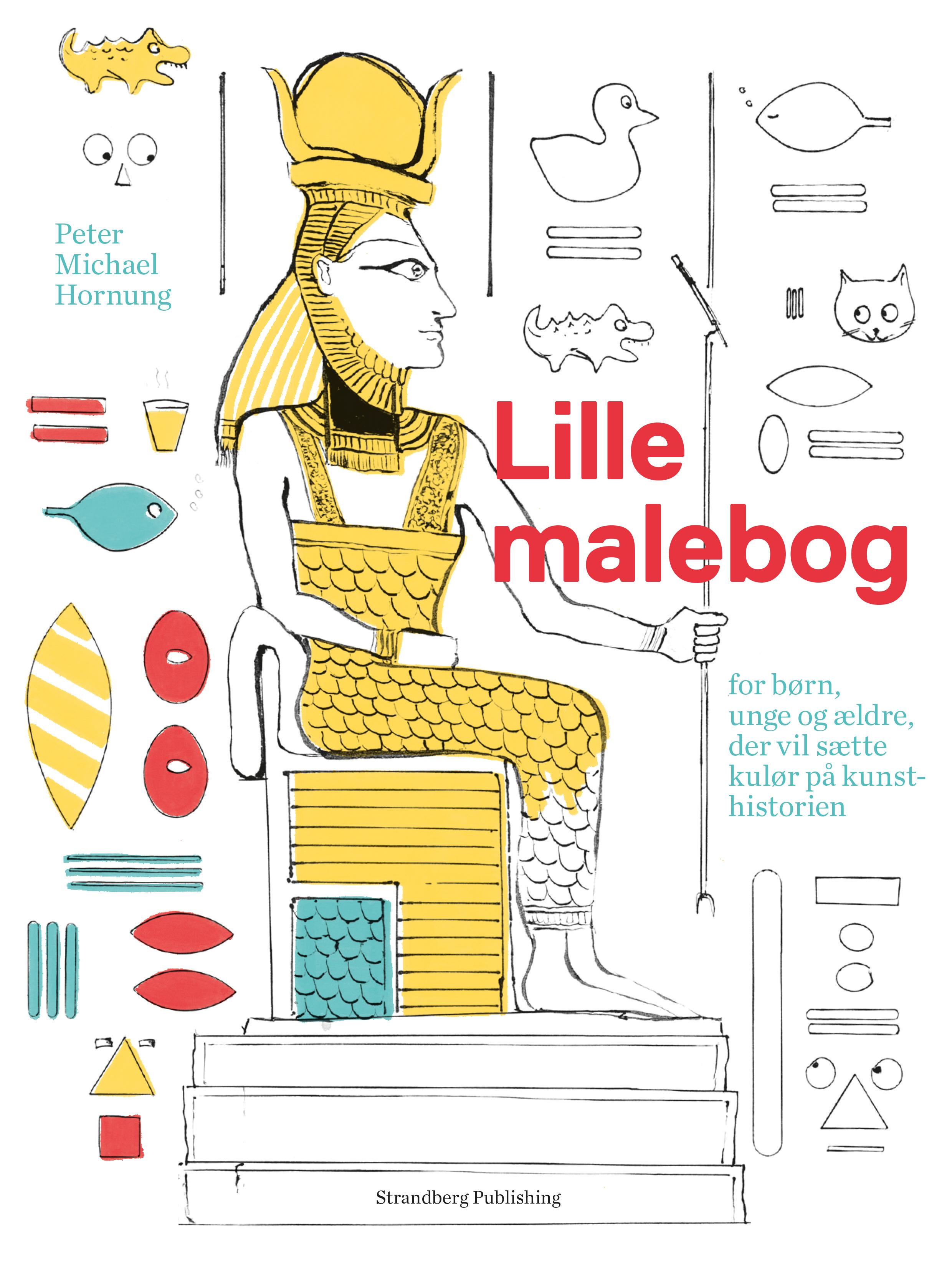 Picture of: Lille Malebog For Born Unge Og Aeldre Der Vil Saette Kulor Pa Kunsthistorien Strandberg Publishing A S