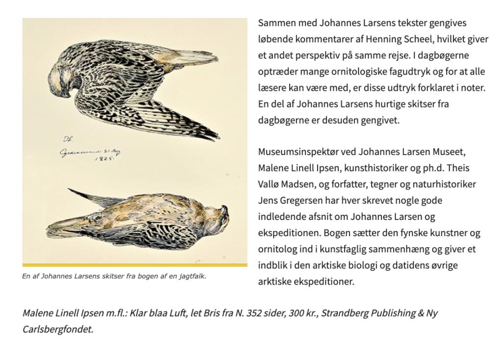 Johannes Larsens Dagbøger